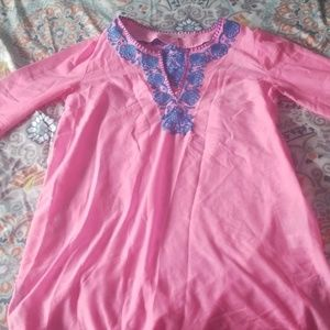Lily Pulitzer bathing suit cover up